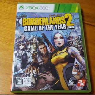 エックスボックス360(Xbox360)の中古 説明書なし XBOX360 ボーダーランズ2(家庭用ゲームソフト)