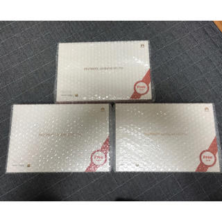 アンドロイド(ANDROID)の新品未使用未開封 Huawei Mediapad M5 Pro 3台(タブレット)