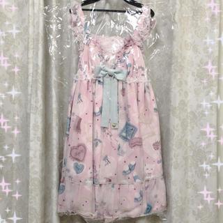 アンジェリックプリティー(Angelic Pretty)の♡My Favorite Room ジャンパースカート♡(ひざ丈ワンピース)
