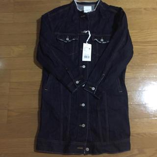 SOMETHING - 新品タグ付き15000→7380 EDWIN サムシング ロングデニムジャケット