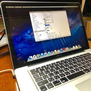 Apple - MacBook Pro SSD換装済 メモリ16GB増設済(15インチ)2011