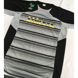 アスレタ(ATHLETA)のアスレタ プラシャツ size O ほぼ新品!早い者勝ち!(ウェア)