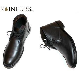 RAINFUBS レインファブス ビジネスシューズブラックS (長靴/レインシューズ)