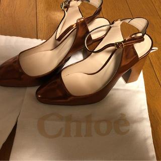 クロエ(Chloe)のクロエ 小さめサンダル サイズ34(サンダル)