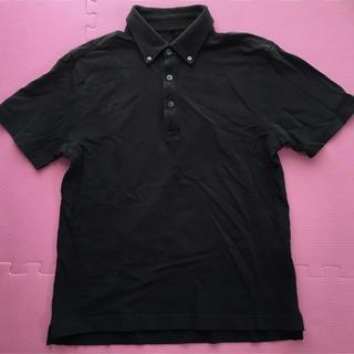 MUJI (無印良品) - 無印良品☆黒ポロシャツ