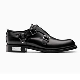 ディオールオム(DIOR HOMME)の新品 Dior homme ATELIER ダブルモンクダービーシューズ 39(ドレス/ビジネス)