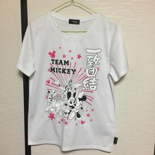 ディズニー(Disney)のディズニー!一致団結Tシャツ!Mサイズ(Tシャツ(半袖/袖なし))