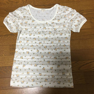 サンカンシオン(3can4on)の 3can4on  花柄Tシャツ レディース L 3(Tシャツ(半袖/袖なし))