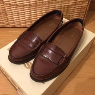 ジーエイチバス(G.H.BASS)のG.H.BASS ローファー ブラウン 22.5cm(ローファー/革靴)
