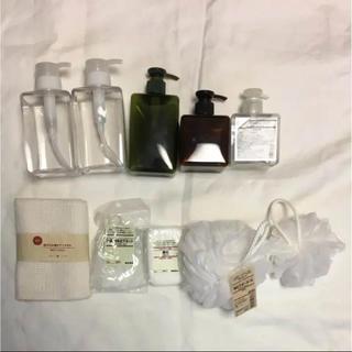 ムジルシリョウヒン(MUJI (無印良品))の無印良品 バスグッズ ・洗濯用品 セット(バスグッズ)