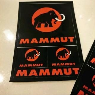 マムート(Mammut)の1枚600円  新品 マムート  ポストカード ステッカー(その他)
