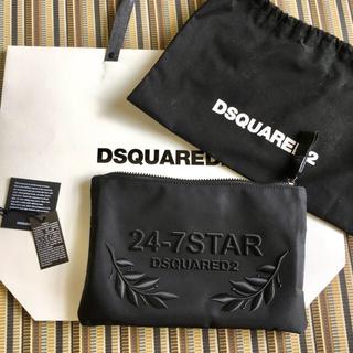 ディースクエアード(DSQUARED2)の大幅値下 17SS ディースクエアード クラッチバック 24-7STAR(セカンドバッグ/クラッチバッグ)