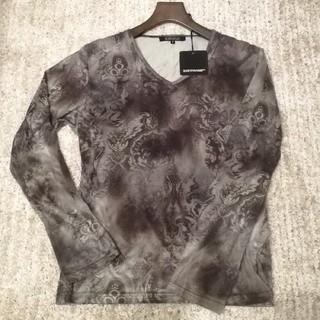 ゴーサンゴーイチプールオム(5351 POUR LES HOMMES)の5351プールオム 総柄 スリム カットソー / シェラック トルネードマート(Tシャツ/カットソー(七分/長袖))