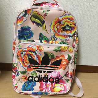 adidas - アディダス 花柄リュック