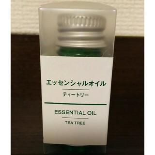 ムジルシリョウヒン(MUJI (無印良品))のhar様専用無印良品エッセンシャルオイル ティートリー10ml(エッセンシャルオイル(精油))
