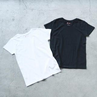 アパートバイローリーズ(apart by lowrys)のアパートバイローリーズ Hanes Tシャツ 黒 M(Tシャツ(半袖/袖なし))