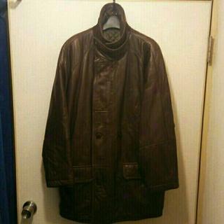 [希少]VERRI 最高級 ラムレザー コート XL(レザージャケット)