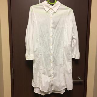 イッカ(ikka)のikka 白シャツ(シャツ/ブラウス(長袖/七分))