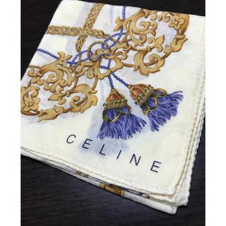 celine - セリーヌ CELINE ❤︎ ハンカチ スカーフ