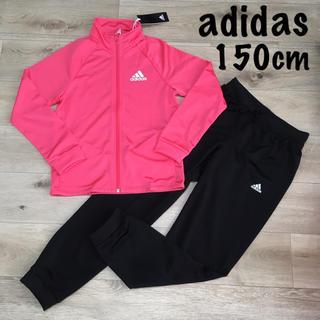 adidas - 150 アディダス 女の子 薄手 ジャージ セット 長袖 長ズボン