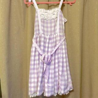 アンジェリックプリティー(Angelic Pretty)のPicnic ジャンパースカート(ひざ丈ワンピース)