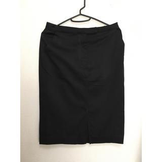 MUJI (無印良品) - 無印良品 スカート 黒