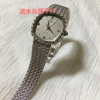 シーマ(CYMA)のCYMA クオーツ604 シルバー ⌚︎(腕時計)