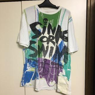 ジーユニット(G-UNIT)のG Unit ジーユニット tシャツ 白 L(Tシャツ/カットソー(半袖/袖なし))