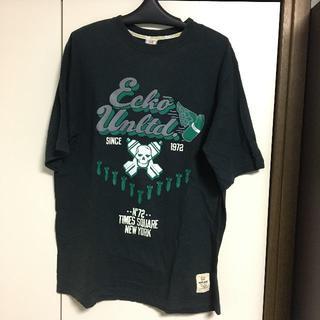 エコーアンリミテッド(ECKŌ UNLTD(ECKO UNLTD))のecko unltd エコーアンリミテッド tシャツ 黒 XL(Tシャツ/カットソー(半袖/袖なし))