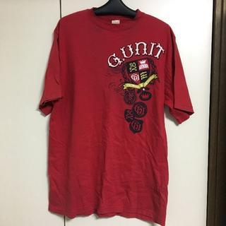 ジーユニット(G-UNIT)のG Unit ジーユニット tシャツ 赤 XL(Tシャツ/カットソー(半袖/袖なし))
