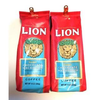 【ハワイ購入品】ライオンコーヒー チョコレートマカダミア 2パック(コーヒー)