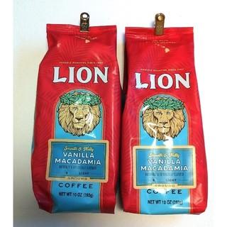 【ハワイ購入品】ライオンコーヒー バニラマカダミア 2パック(コーヒー)