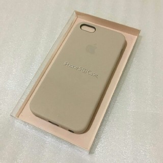Apple - Apple iPhone 5/5s/SE対応 純正レザーケース 新品 未開封