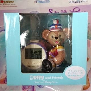 ダッフィー - ダッフィー ハッピーマーチングファン 目覚まし時計