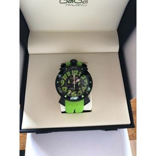 ガガミラノ(GaGa MILANO)の本日限り!今日までのお値段新品 ガガミラノ  腕時計 メンズ 48mm クォーツ(腕時計(アナログ))