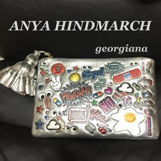 アニヤハインドマーチ(ANYA HINDMARCH)のアニヤハインドマーチ クラッチバッグ/Anya Hindmarch ステッカーズ(クラッチバッグ)