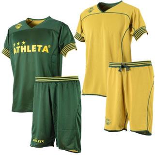 アスレタ(ATHLETA)のプラクティスシャツ、パンツ 上下セット❗️リバーシブル❗️新品❗️(ウェア)