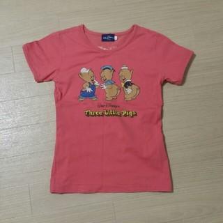 ディズニー(Disney)の未使用3匹のこぶたTシャツ(Tシャツ(半袖/袖なし))