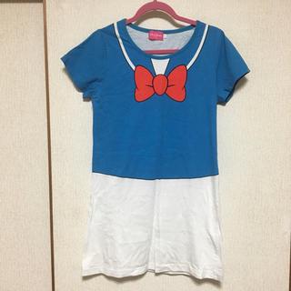 ディズニー(Disney)の【disney】ドナルドダックなりきりTシャツ(Tシャツ(半袖/袖なし))