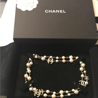 CHANEL - CHANEL 正規品  新品未使用  CHANELロングネックレス