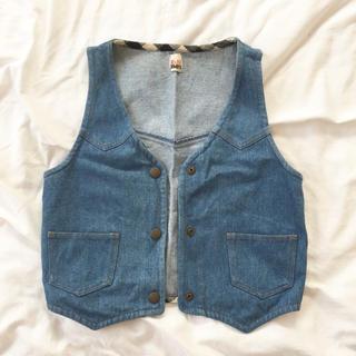 シェル(Cher)のシェルショア デニムベスト(Tシャツ(半袖/袖なし))