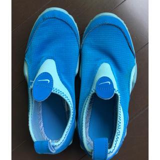 ナイキ(NIKE)のNIKE ナイキ マリンシューズ アクアシューズ キッズ 水遊び 靴 18センチ(アウトドアシューズ)