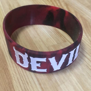 デビルユース(Deviluse)のdeviluse デビルユース ラバーバンド リストバンド マーブル(ミュージシャン)