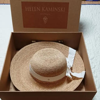 HELEN KAMINSKI - ヘレンカミンスキー  帽子 ニューポート ホワイト L