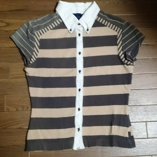 モンクレール(MONCLER)のモンクレール青タグポロシャツ(ポロシャツ)