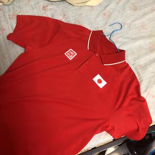 ユニクロ(UNIQLO)のUNIQLO 錦織圭モデルポロシャツ 五輪銅メダル時着用、Lサイズ(スポーツ選手)