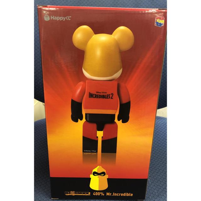 Disney(ディズニー)のハッピーくじ Disney PIXAR 特賞 400% Mr.インクレディブル エンタメ/ホビーのおもちゃ/ぬいぐるみ(キャラクターグッズ)の商品写真