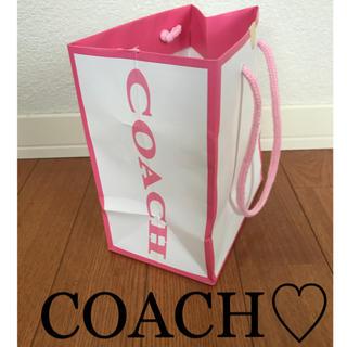コーチ(COACH)のCOACH コーチ ♡ ショップ袋 袋(ショップ袋)