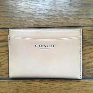 コーチ(COACH)のCOACHパスケース(名刺入れ/定期入れ)