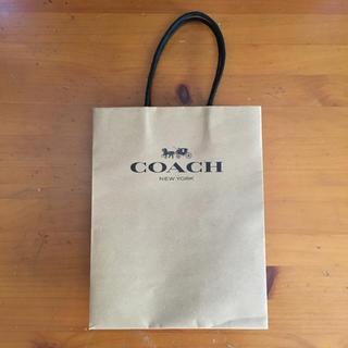 コーチ(COACH)のcoach ショッパー(ショップ袋)